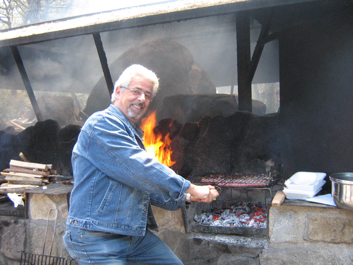 Cocinero en los fogones