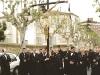 Las mujeres en el Vía Crucis al Cementerio 1ª Salida