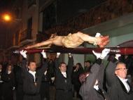 Santo Cristo en Procesión