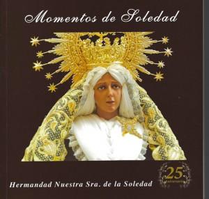 PORTADA DEL LIBRO DE LA HERMANDAD NTRA. SRA. DE LA SOLEDAD